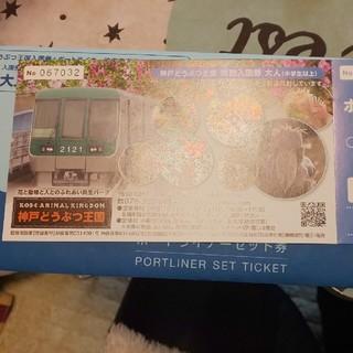 神戸動物王国チケット 入場券(動物園)