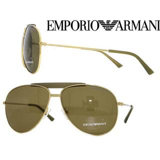 エンポリオアルマーニ(Emporio Armani)のエンポリオアルマーニ ブラウン ティアドロップ EMPORIO ARMANI(サングラス/メガネ)