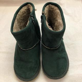 グリーンレーベルリラクシング(green label relaxing)の18cm ボアブーツ(ブーツ)