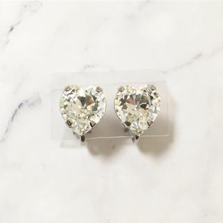 ヨンドシー(4℃)のRetro * heart jewel earring(イヤリング)