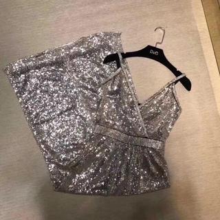 ディーアンドジー(D&G)のbling blingのドレス(ひざ丈ワンピース)