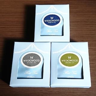 ウェッジウッド(WEDGWOOD)の【WEDGWOOD】紅茶 ティーバッグ(3種類×各5P)15袋(茶)