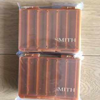 スミス(SMITH)の未使用 スミス ルアーケース リバーシブルMG 二個セット(ルアー用品)