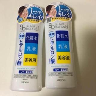 ウテナ(Utena)の☆新品☆ ウテナ シンプルバランス うるおいローション 2本(オールインワン化粧品)