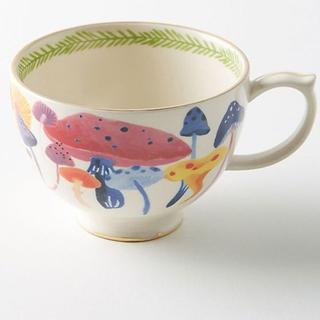 アンソロポロジー(Anthropologie)のアンソロポロジー マグカップ スープカップ きのこ(グラス/カップ)