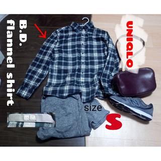 ユニクロ(UNIQLO)のユニクロ B.D.ネルシャツ S(シャツ)