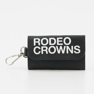 ロデオクラウンズワイドボウル(RODEO CROWNS WIDE BOWL)の新品ブラック キーケース ※他の色はありません。(キーケース)
