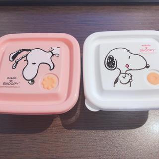 新品☆ SNOOPY スヌーピー タッパー 2個(容器)