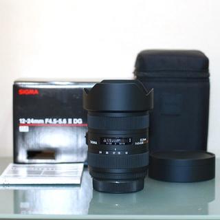 シグマ(SIGMA)のSIGMA 12-24mm F4.5-5.6 II DG HSM キヤノン用(レンズ(ズーム))