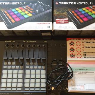 パイオニア(Pioneer)の【2台セット販売】traktor control f1 美品箱付き(DJコントローラー)