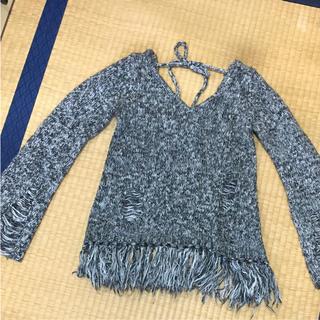 ガルラ(GARULA)のグレー霜降りセーター(ニット/セーター)