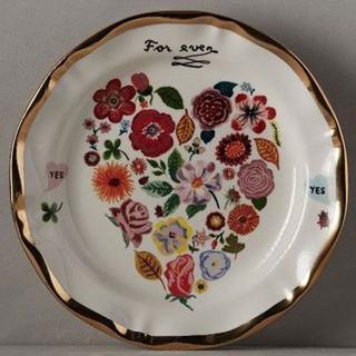 アンソロポロジー(Anthropologie)のアンソロポロジー ナタリーレテ ディナープレート 花 結婚祝い(食器)