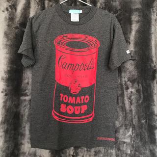 ツーケイバイギンガム(2K by Gingham)の美品★2K★キャンベル缶デザインTシャツ(Tシャツ/カットソー(半袖/袖なし))