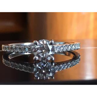 デビアス(DE BEERS)のデビアス プラチナ ダイヤモンド(リング(指輪))