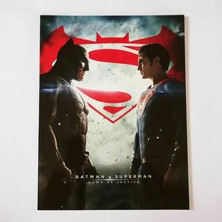 ディーシー(DC)の【本】バットマンvsスーパーマン ジャスティスの誕生 パンフレット アメコミ映画(外国映画)