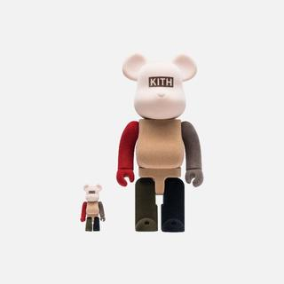 MEDICOM TOY - KITH X BE@RBRICK 100% & 400% PACK