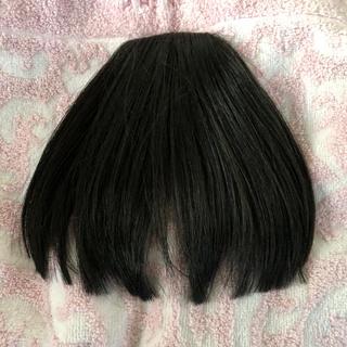 前髪 ウィッグ 黒(前髪ウィッグ)