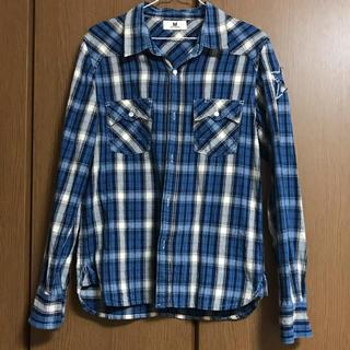 エム(M)のMチェックシャツ(シャツ)