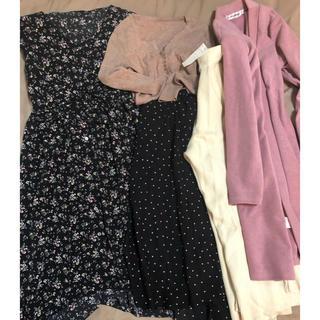 ハニーガールオーガニクス(Honey Girl Organics)の新品類付きから試着まで 洋服まとめ売り ワンピース アウター ニット スカート(その他)