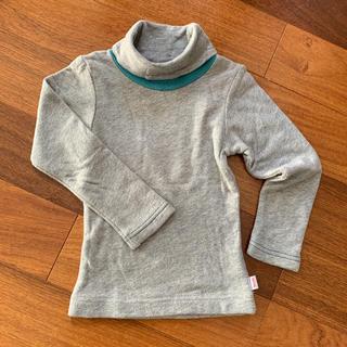 ナチュラルブー(Natural Boo)のナチュラルブー 配色タートル ロンT 100(Tシャツ/カットソー)