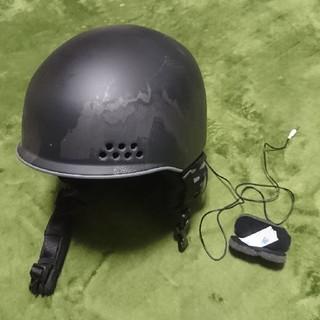 ケーツー(K2)のK2 スノーボードヘルメット 音楽再生通話マイク機能付き(アクセサリー)