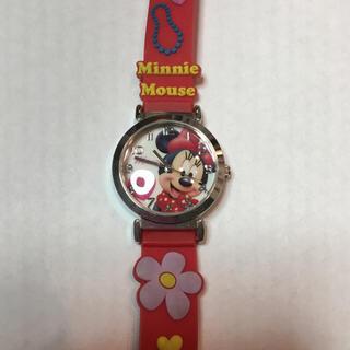 ディズニー(Disney)の【美品‼️】ミニーちゃんの腕時計(腕時計)