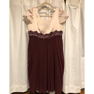 エメ(AIMER)のAIMER ワンピース ドレス(ミディアムドレス)