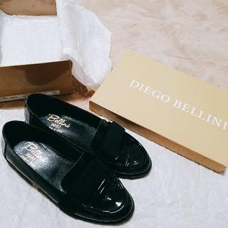 ディエゴベリーニ(DIEGO BELLINI)のDIEGO BELLINI ローファー 38(ローファー/革靴)