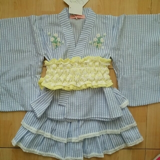 100浴衣ドレス(甚平/浴衣)