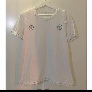 ケイスケカンダ(keisuke kanda)のkeisukekanda たすき掛けTシャツ(Tシャツ(半袖/袖なし))