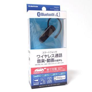 C429 未開封 TBM07K Bluetooth ヘッドセット 車載充電器付(ヘッドフォン/イヤフォン)