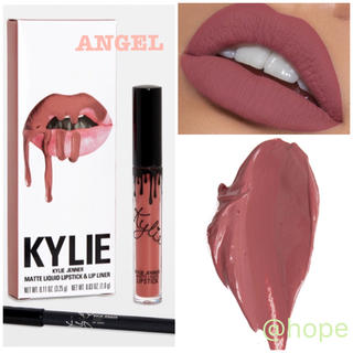 カイリーコスメティックス(Kylie Cosmetics)の【新品】 カイリーコスメティック リップキット Angel 正規品 アメリカ(口紅)