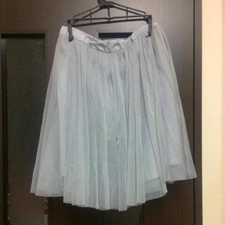 バナーバレット(Banner Barrett)のチュールスカート(ひざ丈スカート)