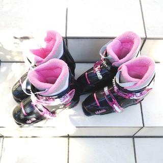 スキー ブーツ セット ジュニア キッズ 21cm、22㎝(ブーツ)