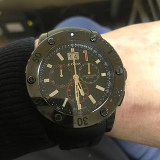 エドックス(EDOX)のエドックス クラスワン クロノグラフ 本日限定(腕時計(アナログ))