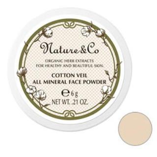 ネイチャーアンドコー(Nature&Co)のNature&Co プレストパウダー(フェイスパウダー)