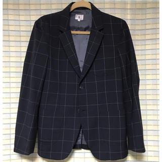 ティーケー(TK)の【TK】チェックテーラードジャケット Mサイズ 3,700円!!(テーラードジャケット)