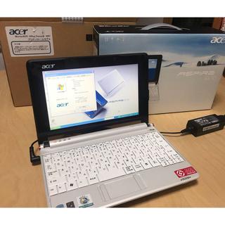 エイサー(Acer)の【激安 美品】acer ASPIRE one AOA150 BW1 ZG5(ノートPC)