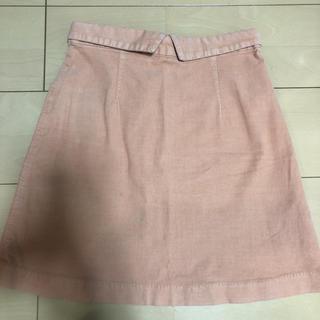 バナーバレット(Banner Barrett)のバナーバレット スエード スカート(ミニスカート)