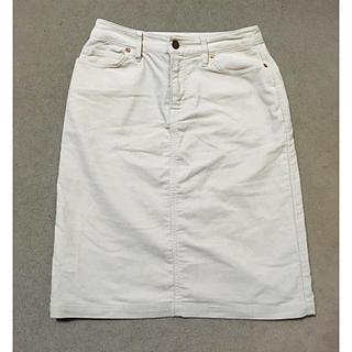 ムジルシリョウヒン(MUJI (無印良品))の無印良品コーデュロイスカート(ひざ丈スカート)