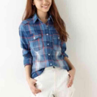 アバンリリー(Avan Lily)のAvan Lily♡チェックシャツ(シャツ/ブラウス(長袖/七分))