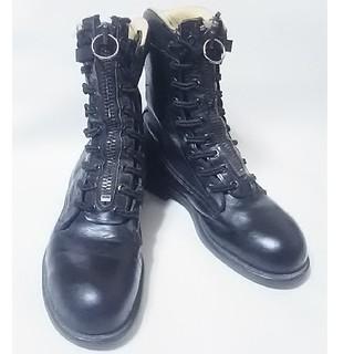 チペワ(CHIPPEWA)の 希少ミリタリー!チペワ高級アメリカUSA製ミリタリーブーツ黒ビンテージ!   (ブーツ)