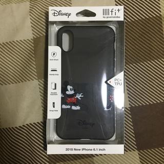 Disney - Disney イーフィット  ミッキー iPhone XR ケース ディズニー
