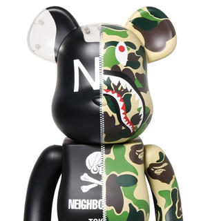 A BATHING APE - 1000% Bape × NEIGHBORHOOD BE@RBRICK