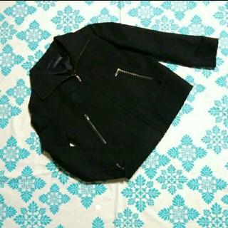 コルディア(CORDIER)のコルディア 黒ジップジャケット40(ブルゾン)