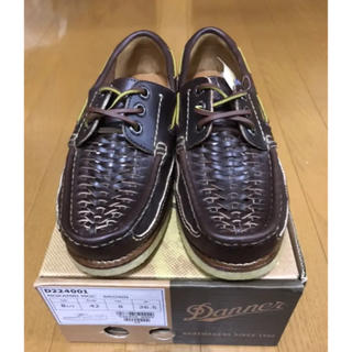 ダナー(Danner)の新品 定価2万 ダナー  デッキシューズ ブラウン サイズ26.5cm(デッキシューズ)