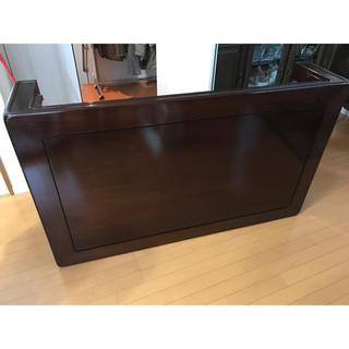 黒檀テーブル 高級座卓(ローテーブル)