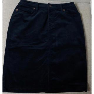 ムジルシリョウヒン(MUJI (無印良品))の無印 コーデュロイスカート(ひざ丈スカート)