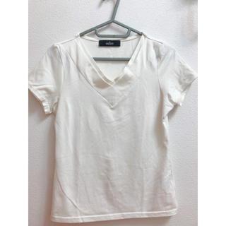 サリア(salire)の♡激安♡送料無料♡Salire 白 Tシャツ サイズM(Tシャツ(長袖/七分))