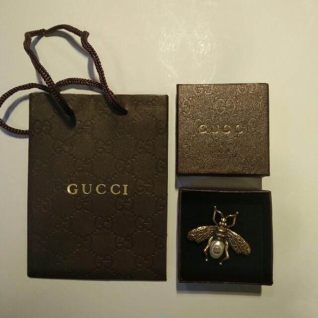 Gucci(グッチ)のGucci ブローチ レディースのアクセサリー(ブローチ/コサージュ)の商品写真